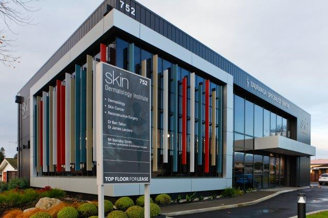 SKIN Dermatology Institute is located in the Tauranga Specialist Centre.