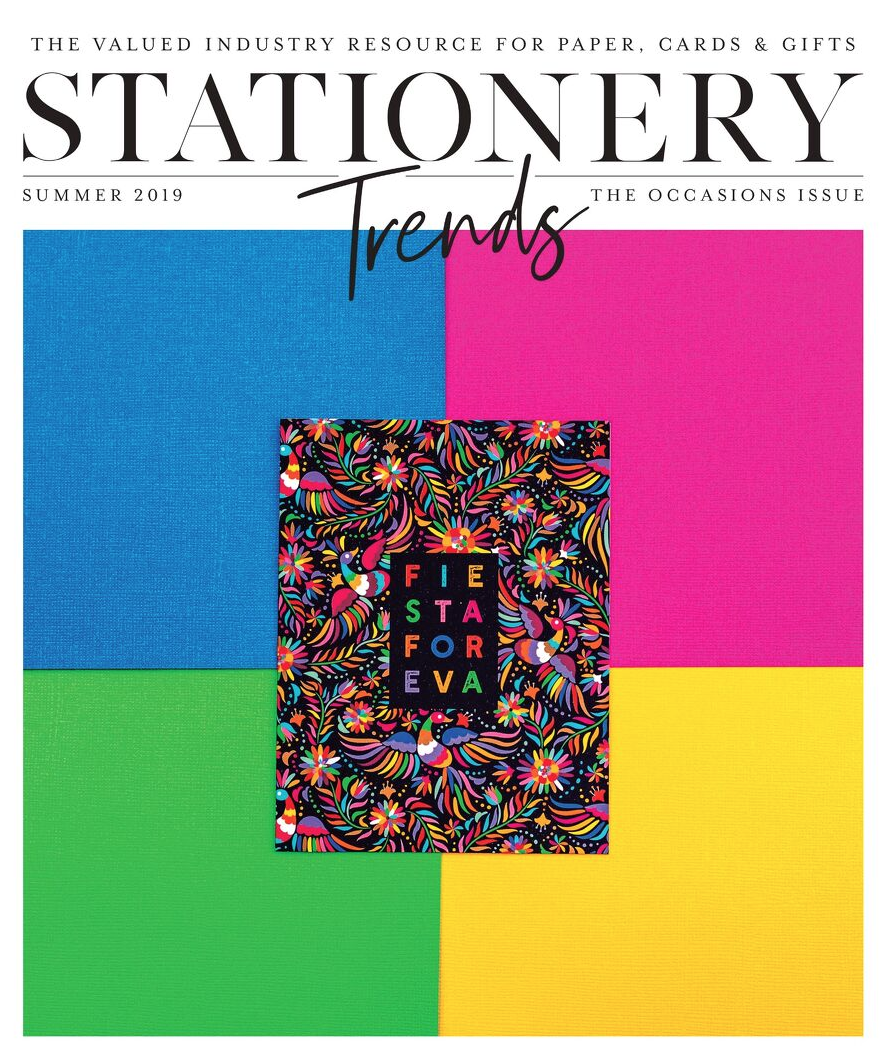 """""""40 Under 40"""" From Stationery Trends Magazine - Our founder, Janna, was named one of Stationery Trends Magazine's """"40 Under 40"""" for Stationery & Gifts and will be listed in their 3 national magazines: Stationery Trends, GiftShop, and Museums & More."""