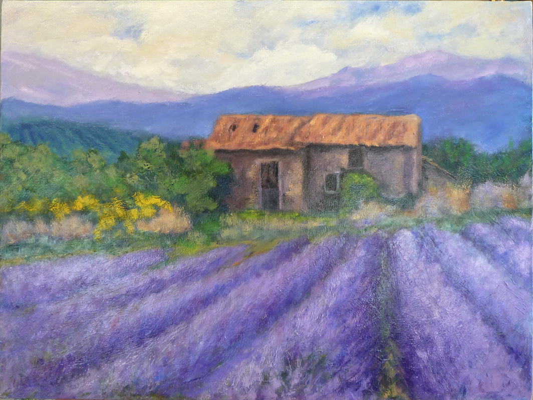 sold- July in Provence