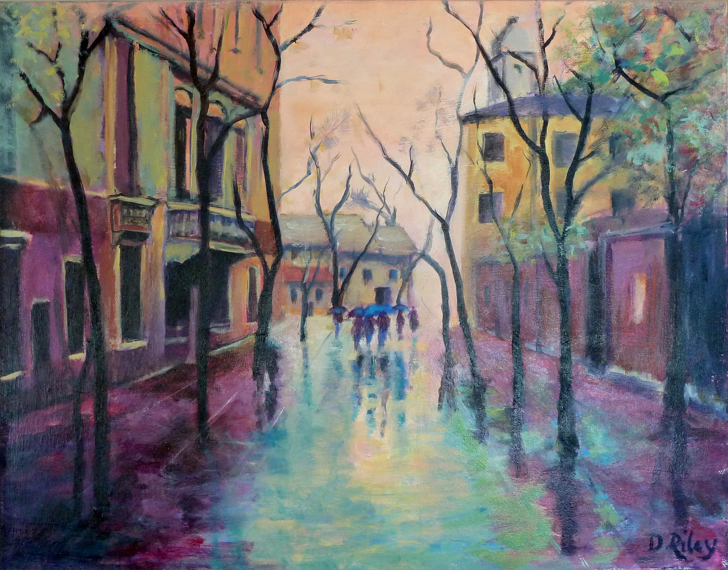 Rainy day-  sold