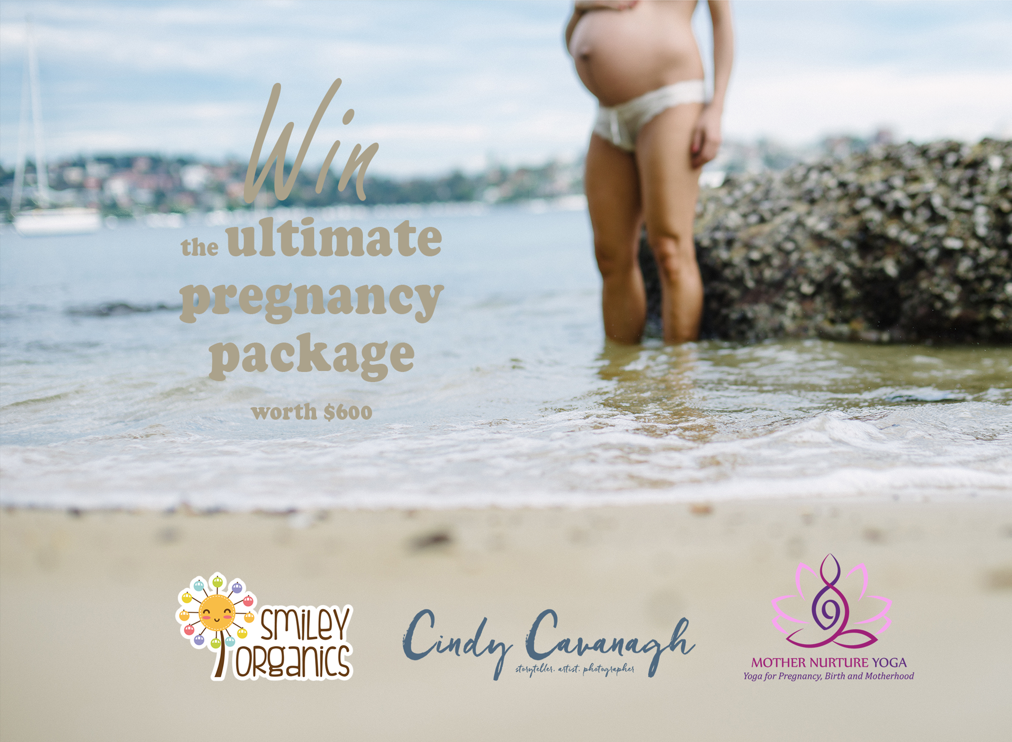 Maternity portraits in Sydney on the Northern Beaches by Cindy Cavanagh
