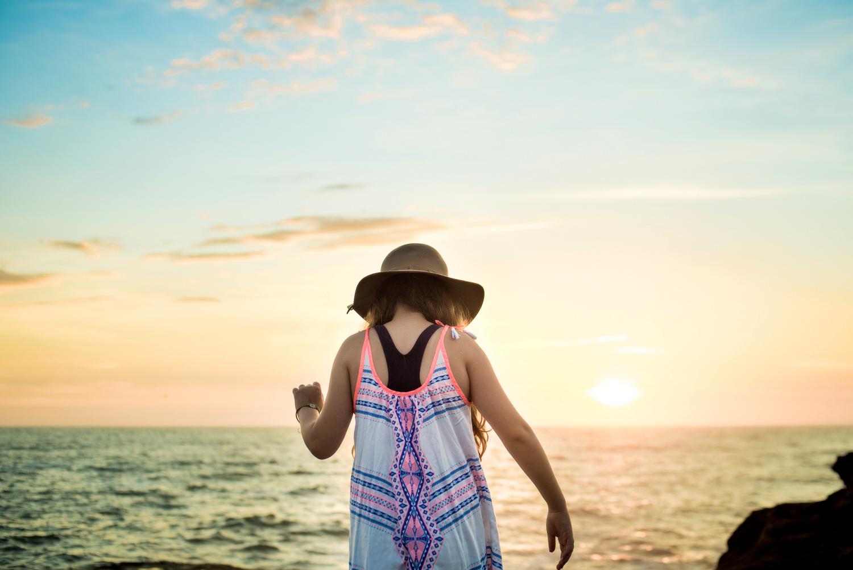 A beautiful sunrise at Freshwater Beach