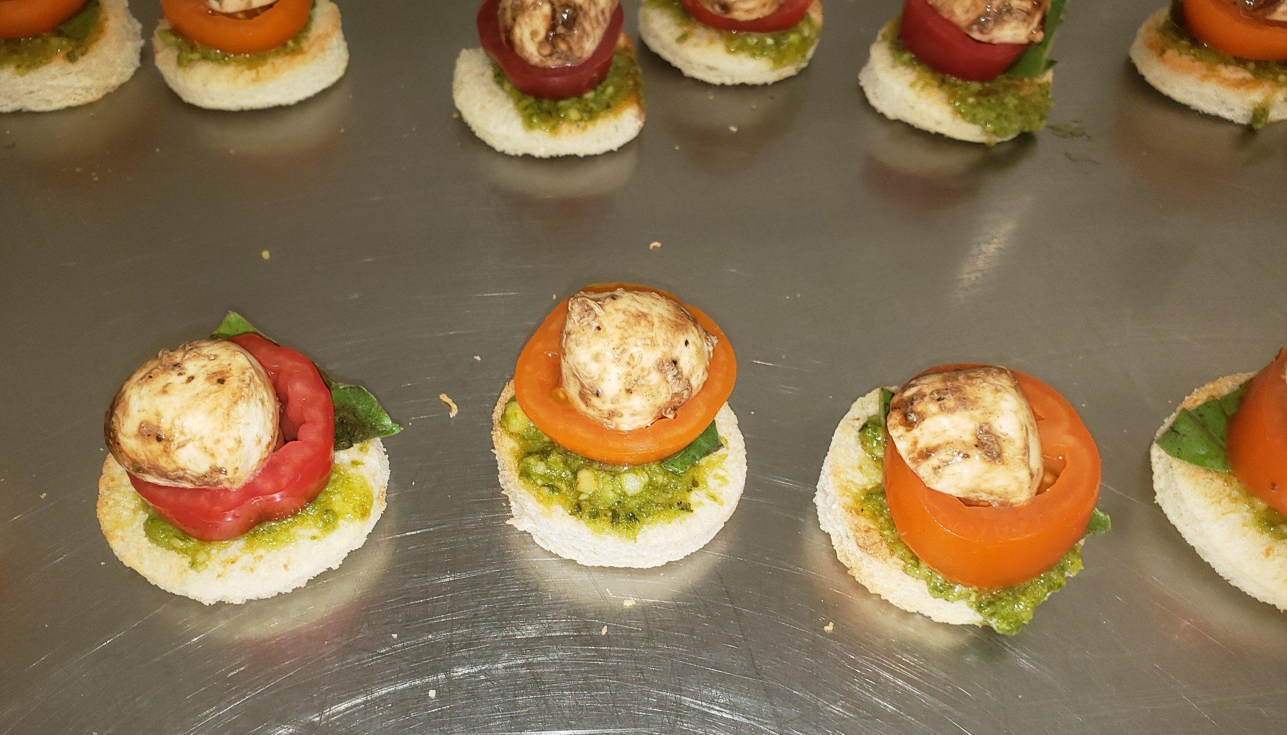 Open Faced Tomato, Basil & Fresh Mozzarella.jpg