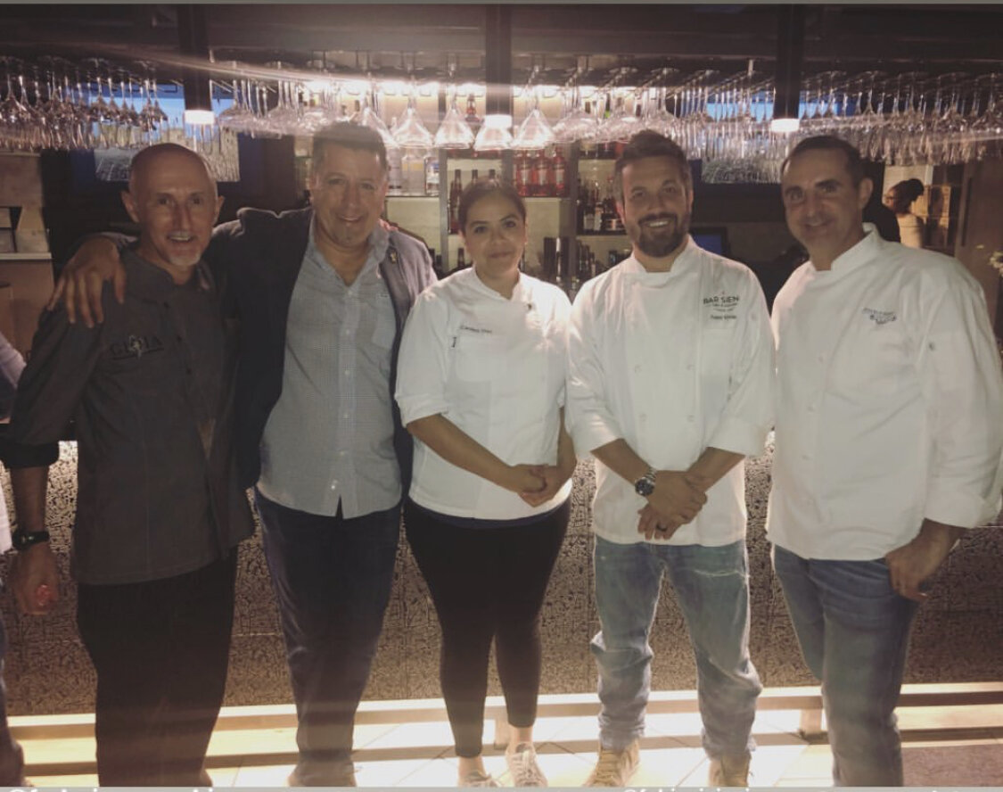 Thank you to all the chefs and our emcee, Mario Rizzotti