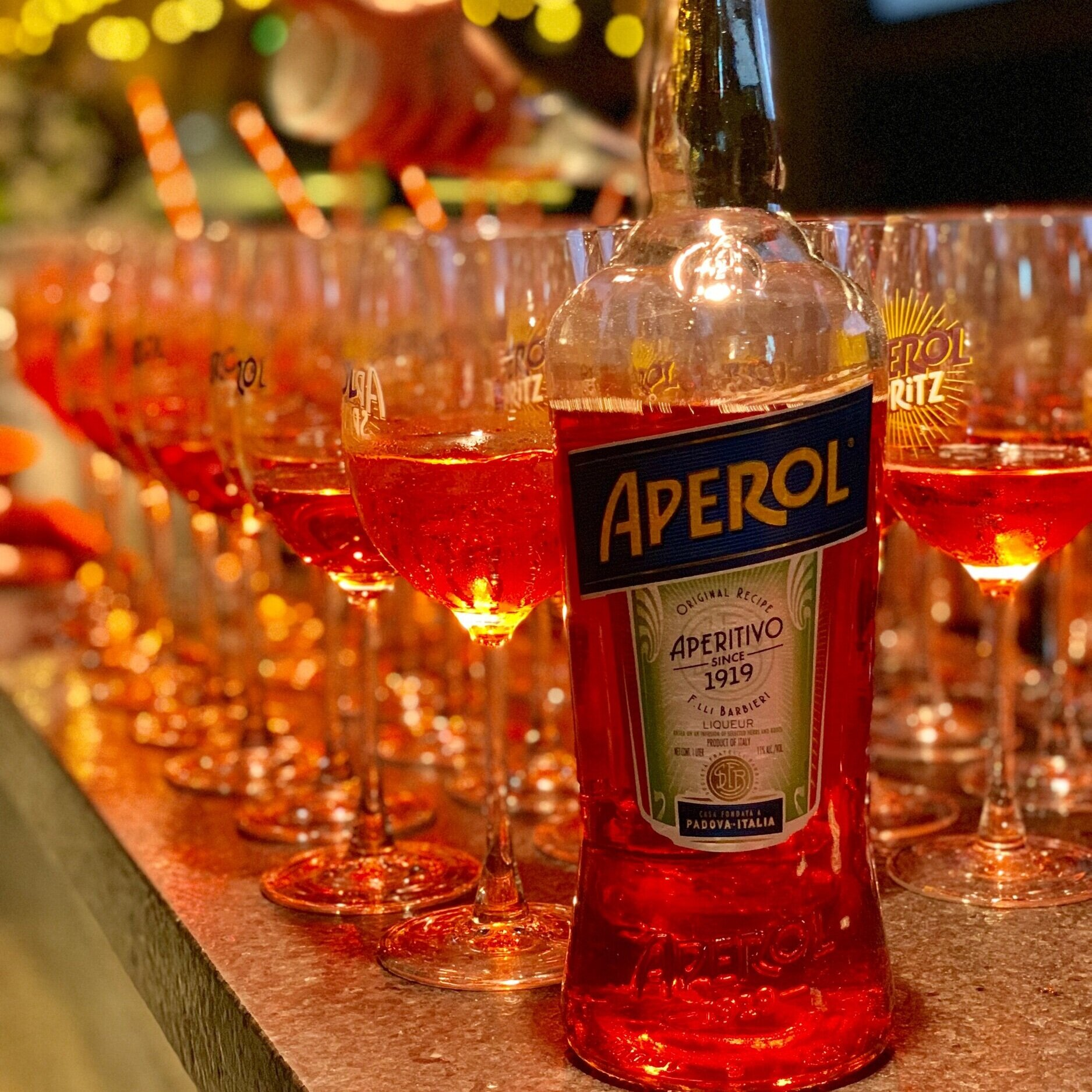 Wouldn't be a proper cruise without Aperol