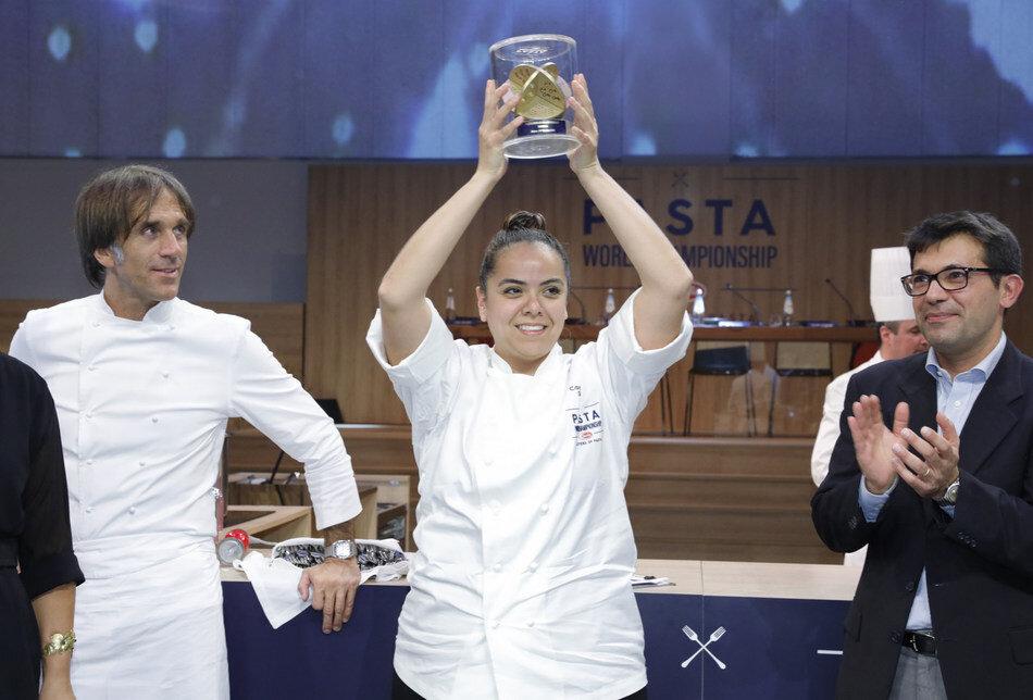 Chef Carolina Diaz, 2018 Barilla World Pasta Champion