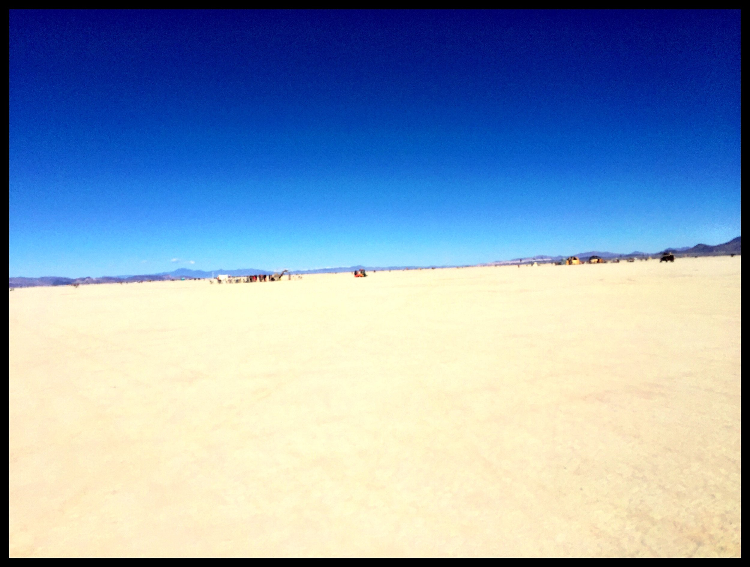 Playa, playa as far as the eye can see
