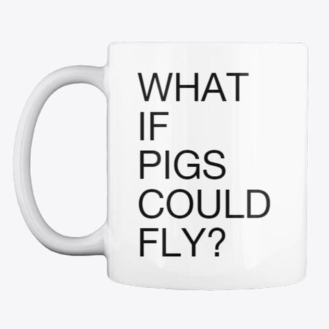 Flying Pig Mug  $11.99