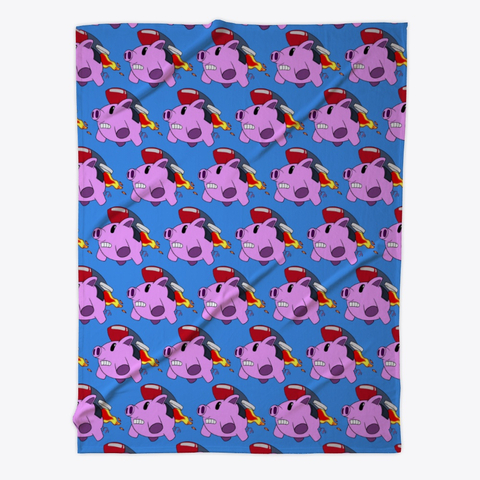 Flying Pig Fleece Blanket  $56.99