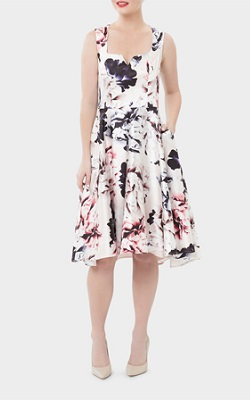 Review | Moonlight Floral Dress | $299.99