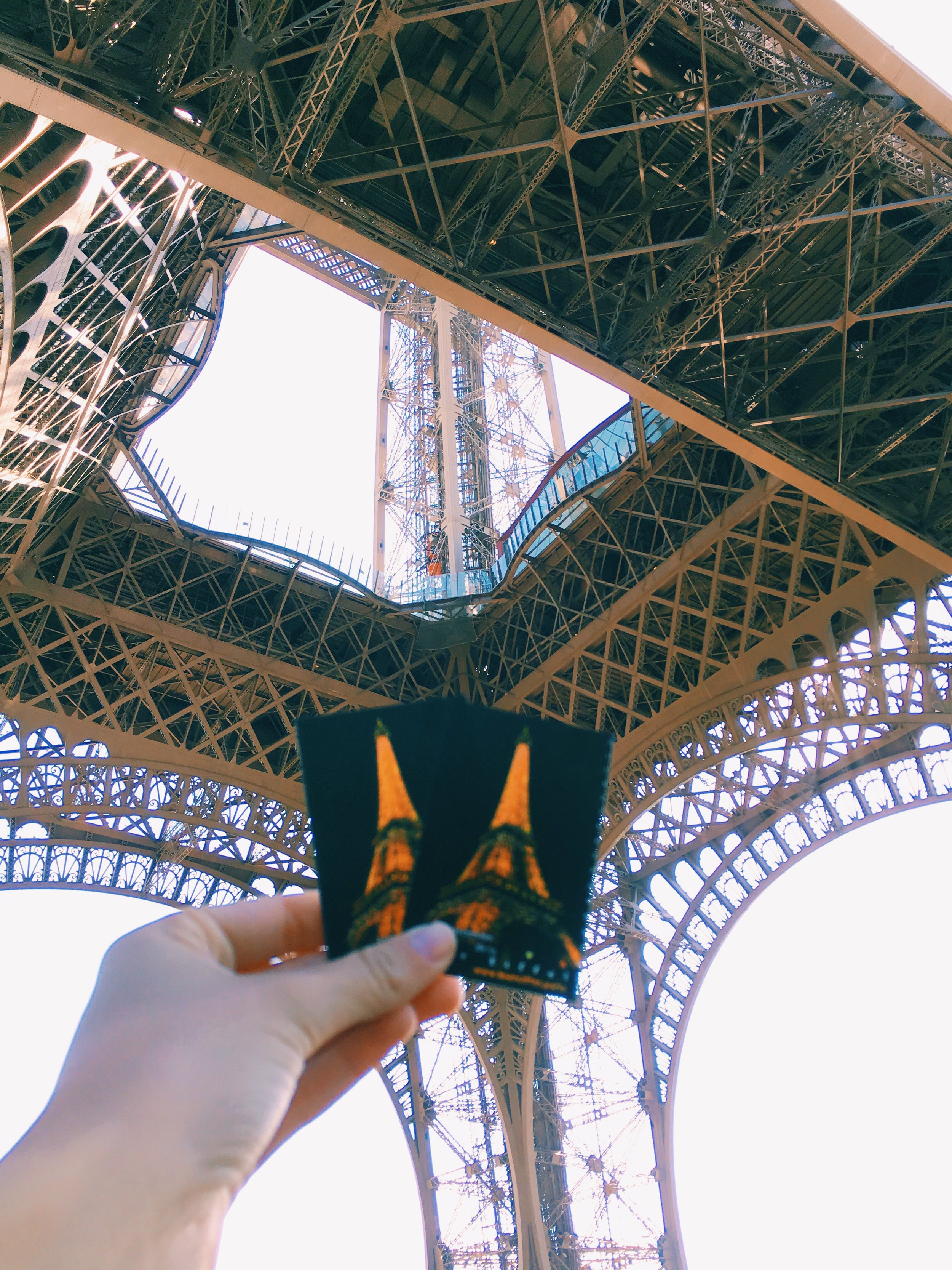 tour eiffel tickets and photo