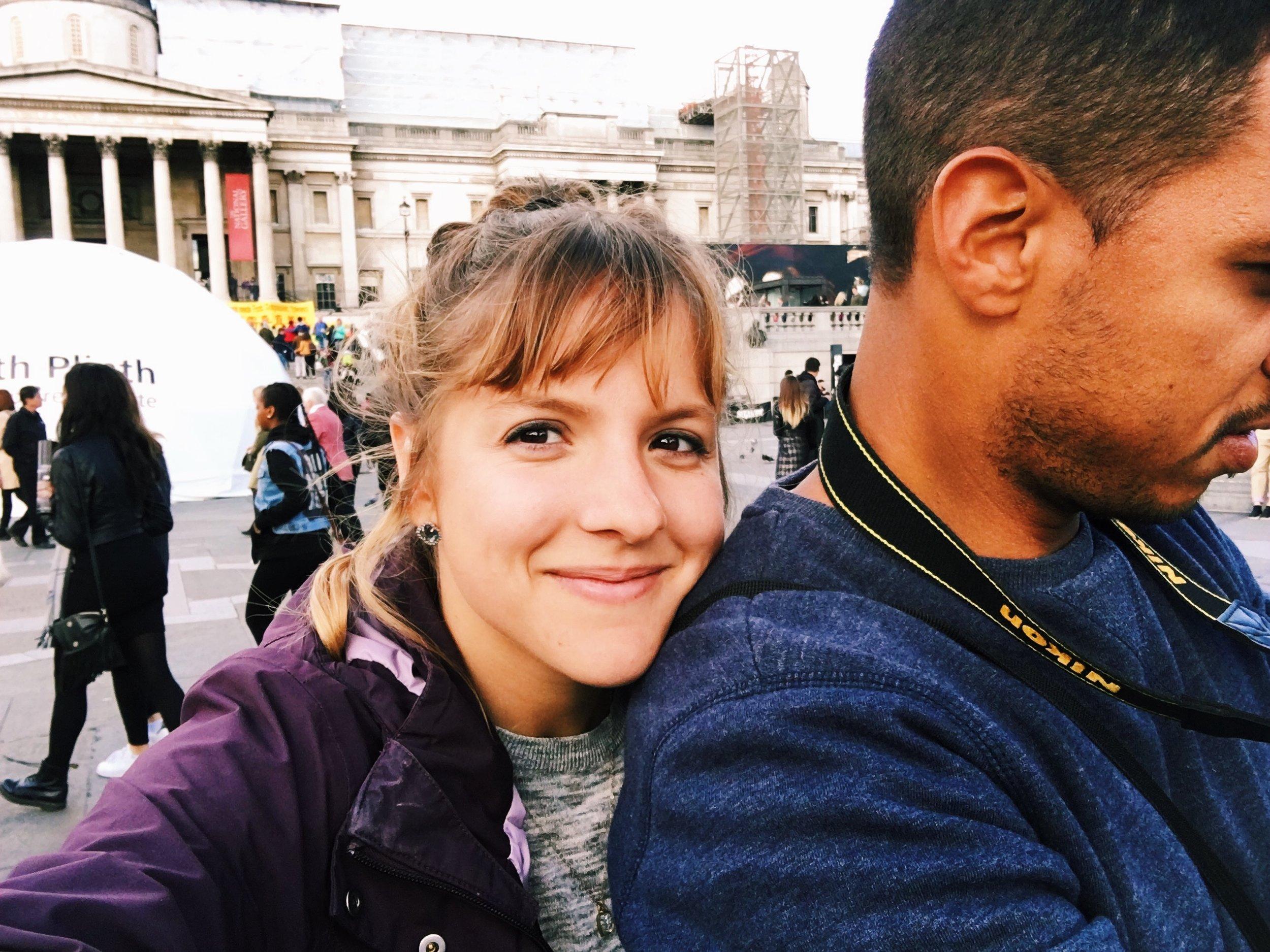 selfie-trafalgar-square