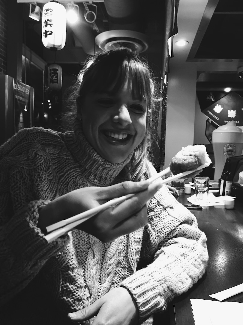 Sushi time in Santa Monica