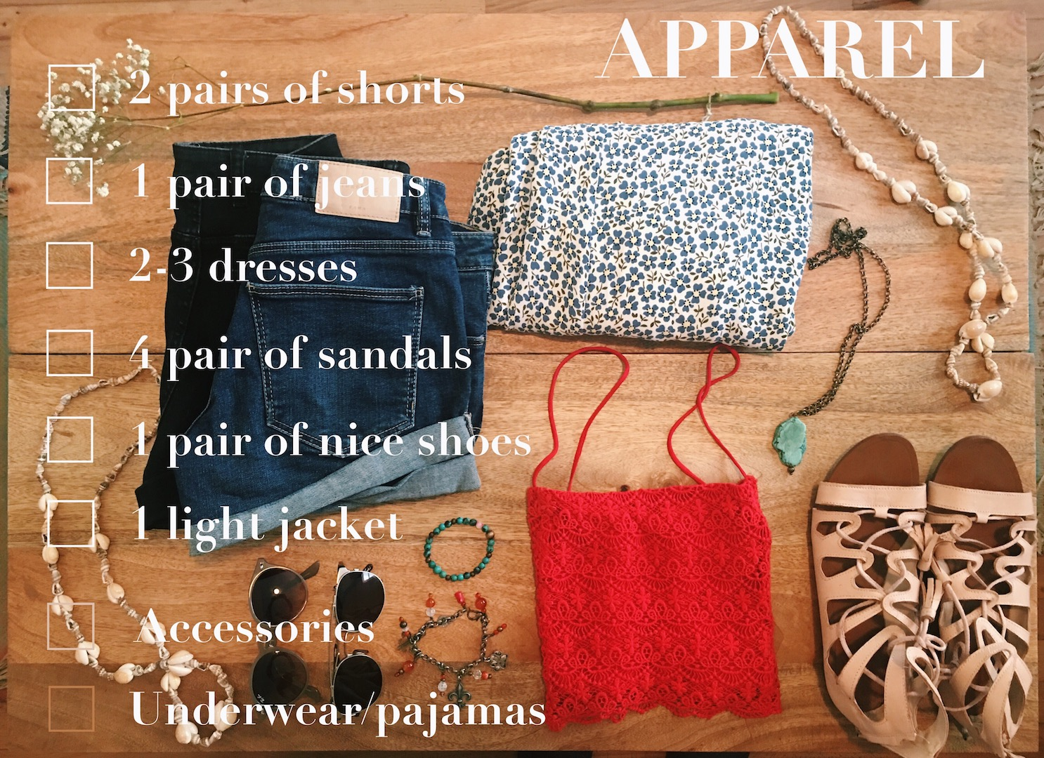 apparel-travel-packing-checklist