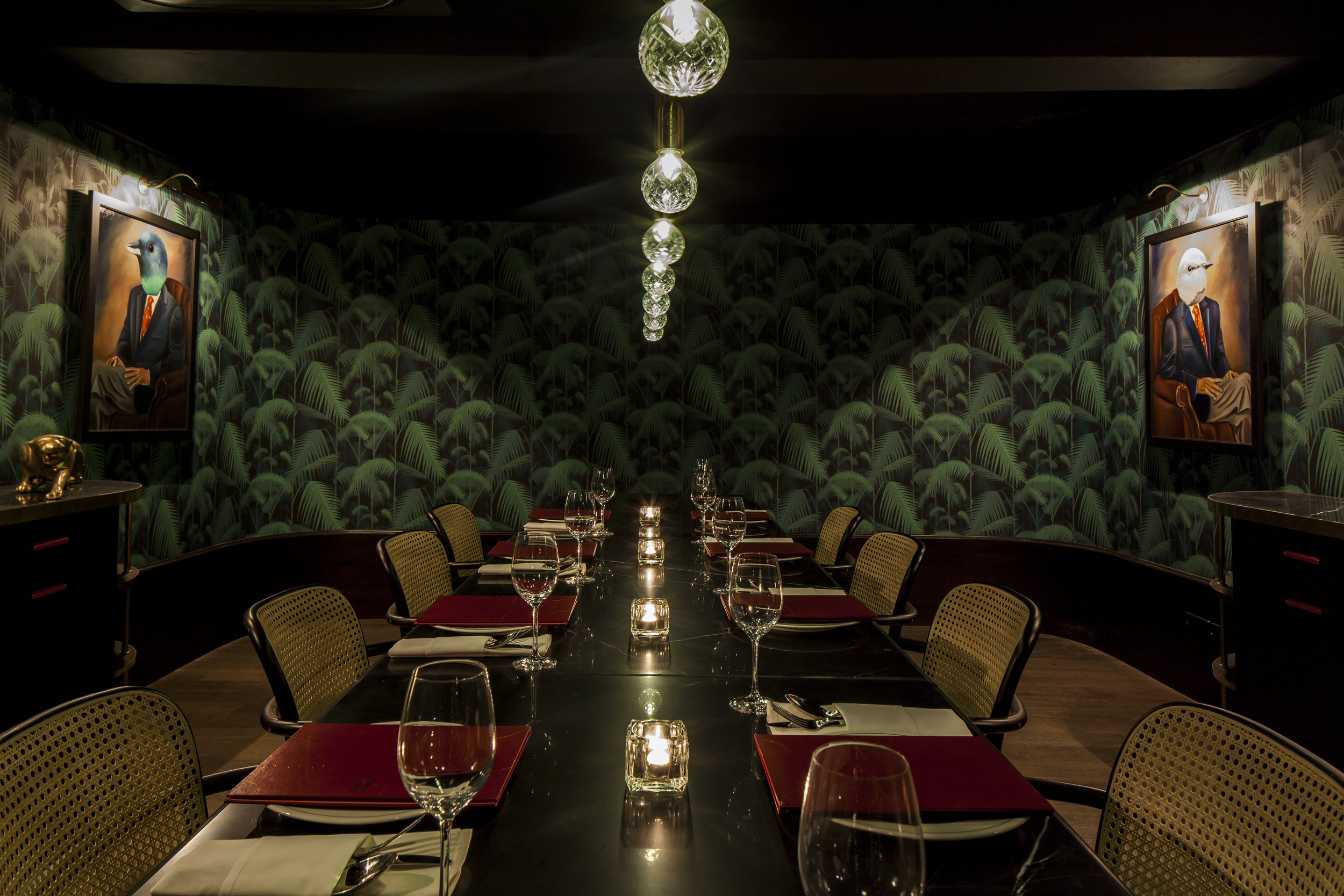 Private Dining Room Seated: 14  |  Standing: Not available