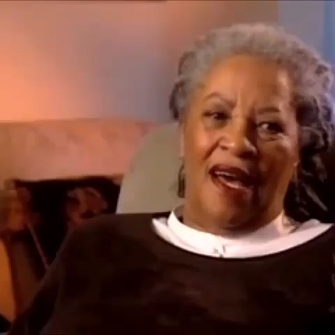 "Ancestor, Toni Morrison 💔 as I mourn her death & celebrate her life I felt the need to share some wisdom she's taught me on my journey 1.) Never write for a living, write for life. 2.) Black women are both ""safe harbor & ship."" 3.) Don't force your pen. Put it down & pick it up only when you have some real shit to say. 4.) Black people are the center, whiteness is a backdrop. 5.) Some of our ancestors flew; we can too. #ToniMorrison #TheGreat"
