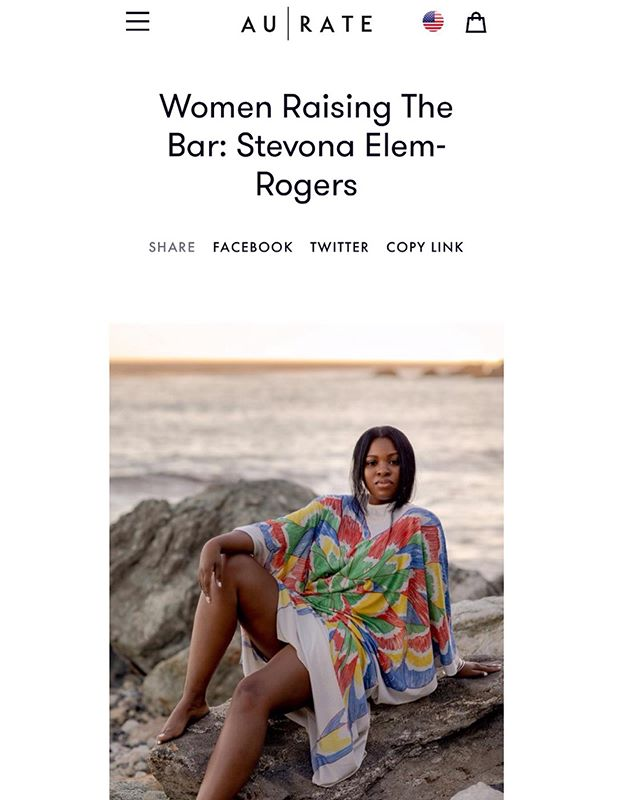 "Hiiiii 🌹 Big love to @auratenewyork who featured me on their blog series ""Women Raising The Bar."" Was an honor to chat about Toni Morrison influence on my life path, who inspired #BWAFGU, the sacredness of what it means to be a Black woman writer & more. *link in bio* 🌹#AUrator #SetTheStandard"