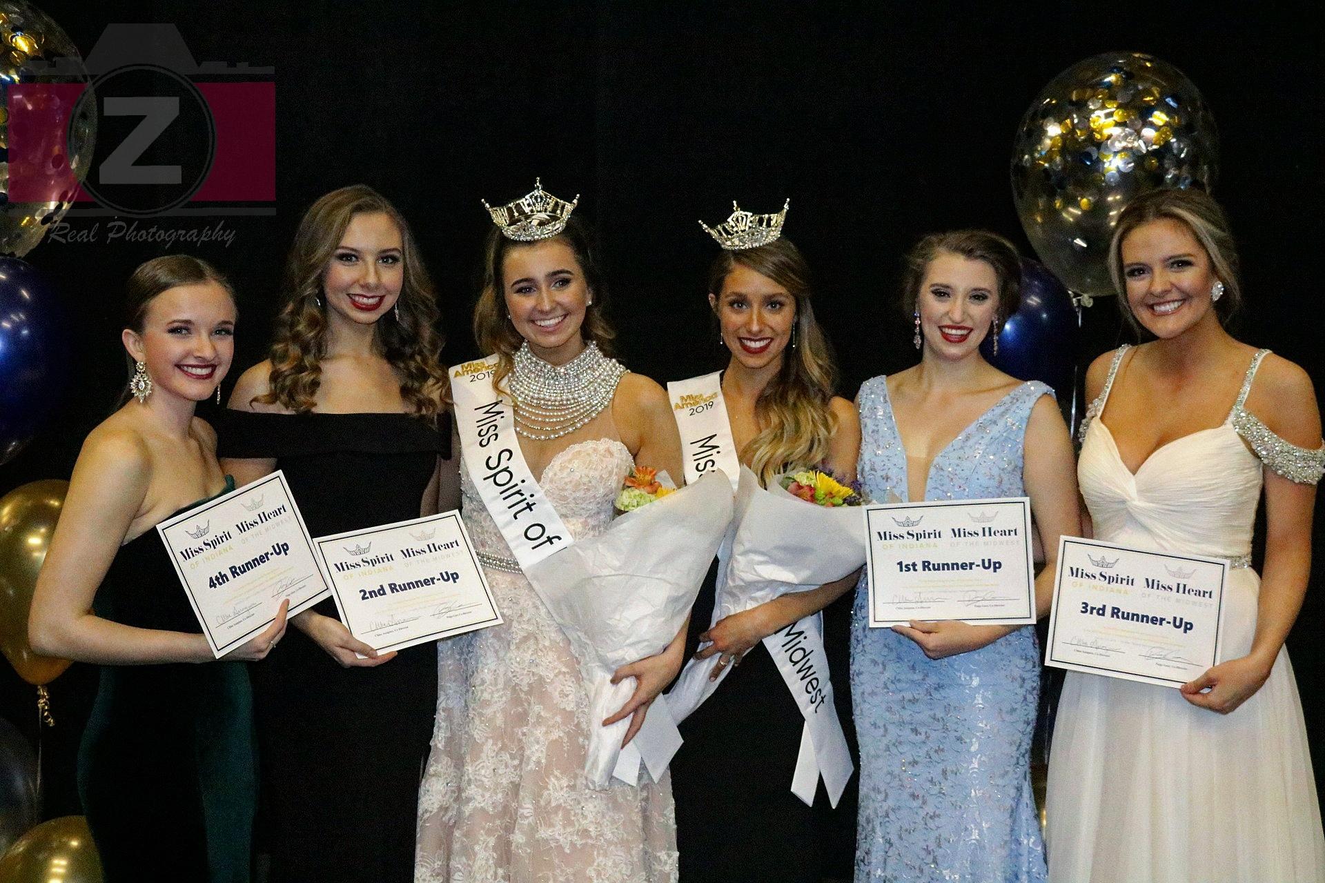 (Left-Right): Lindsey Brown, Brittany Gallarneau, Alias Tschuor, Samara Norris, Priscilla Olson, Hannah Bullion