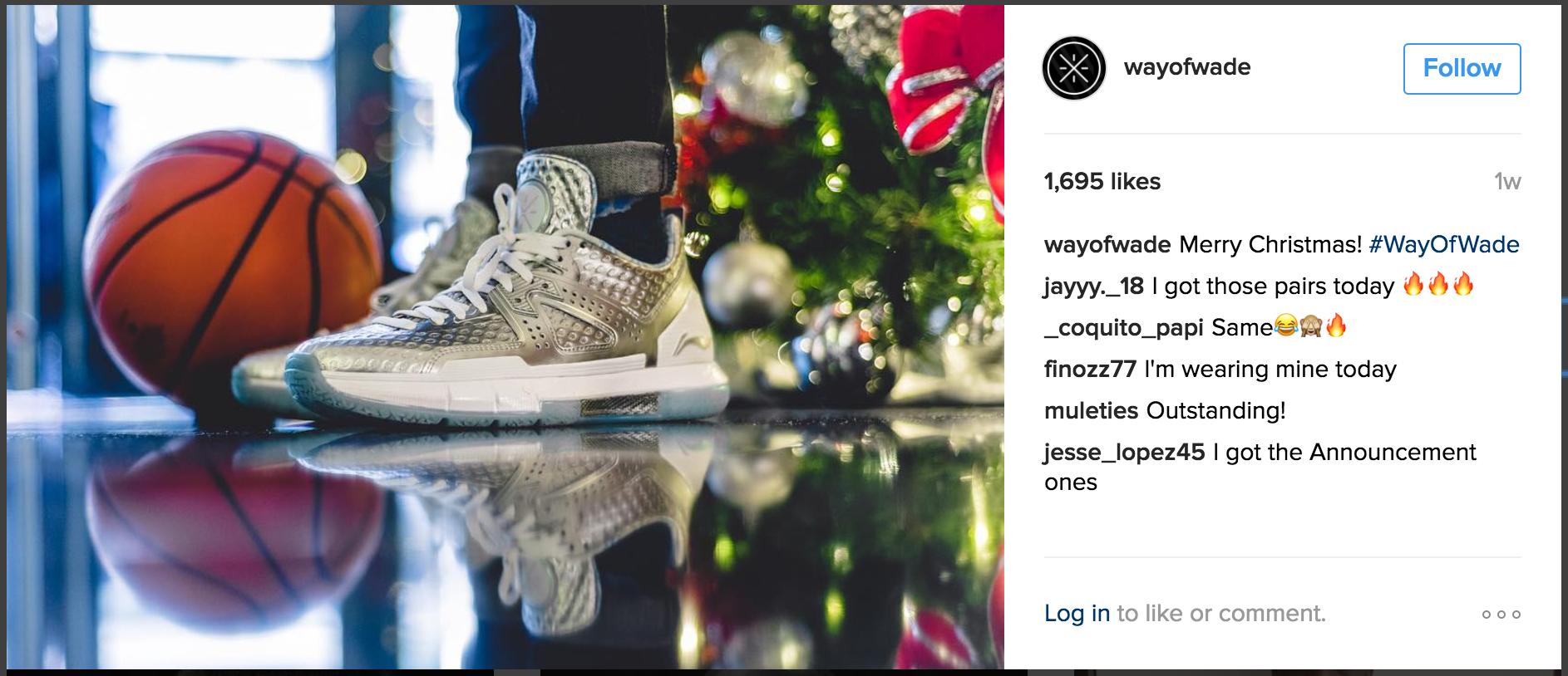 Way of Wade IG Christmas Collection