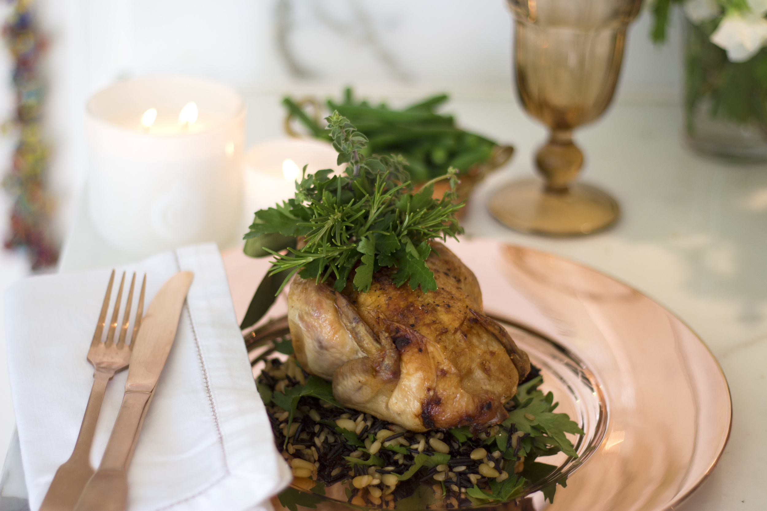 Roasted Poussin