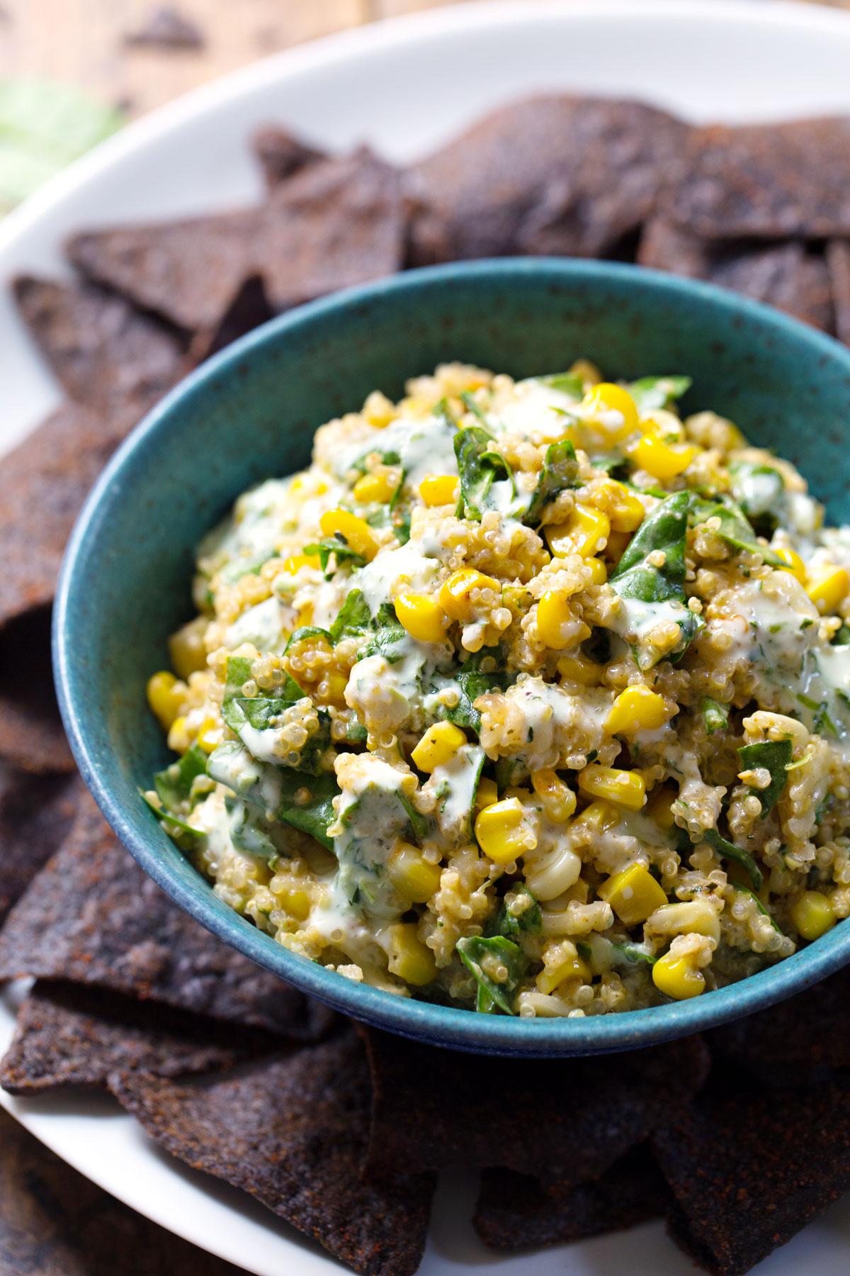 Sweet Corn and Quinoa Salad