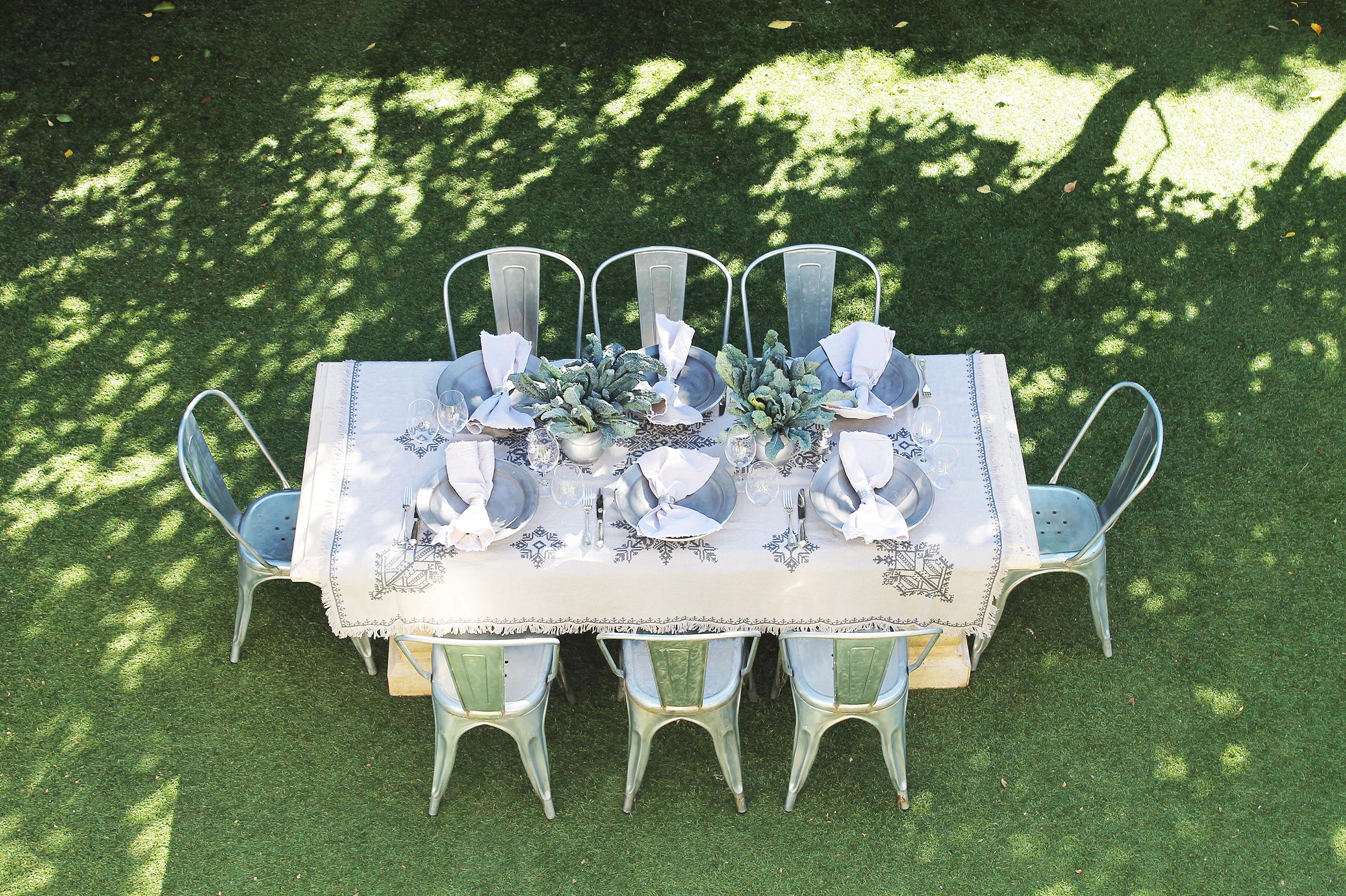 Silver Table Setting Chyka Keebaugh