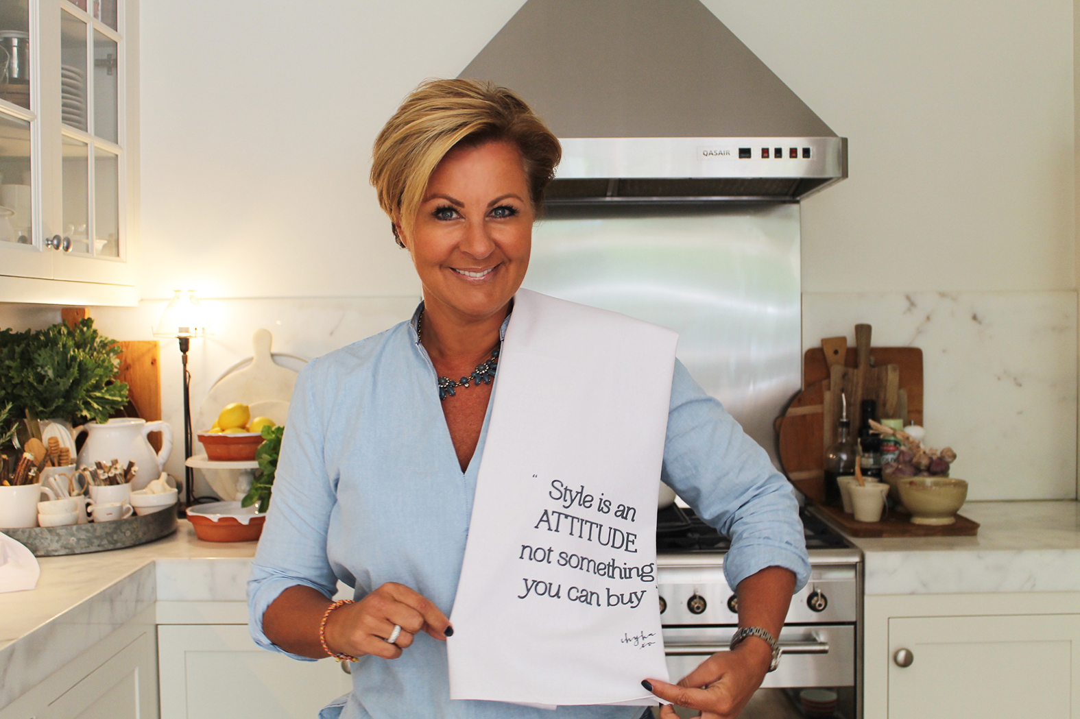 'Style is Attitude' Tea towels by Chyka.