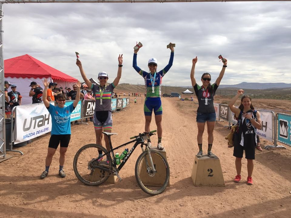 Pro Women, Meghan 3rd  and Erika 4th
