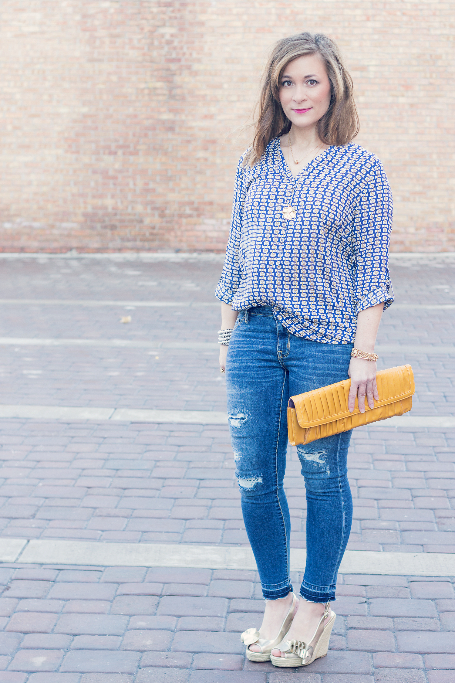 Cute spring look for women