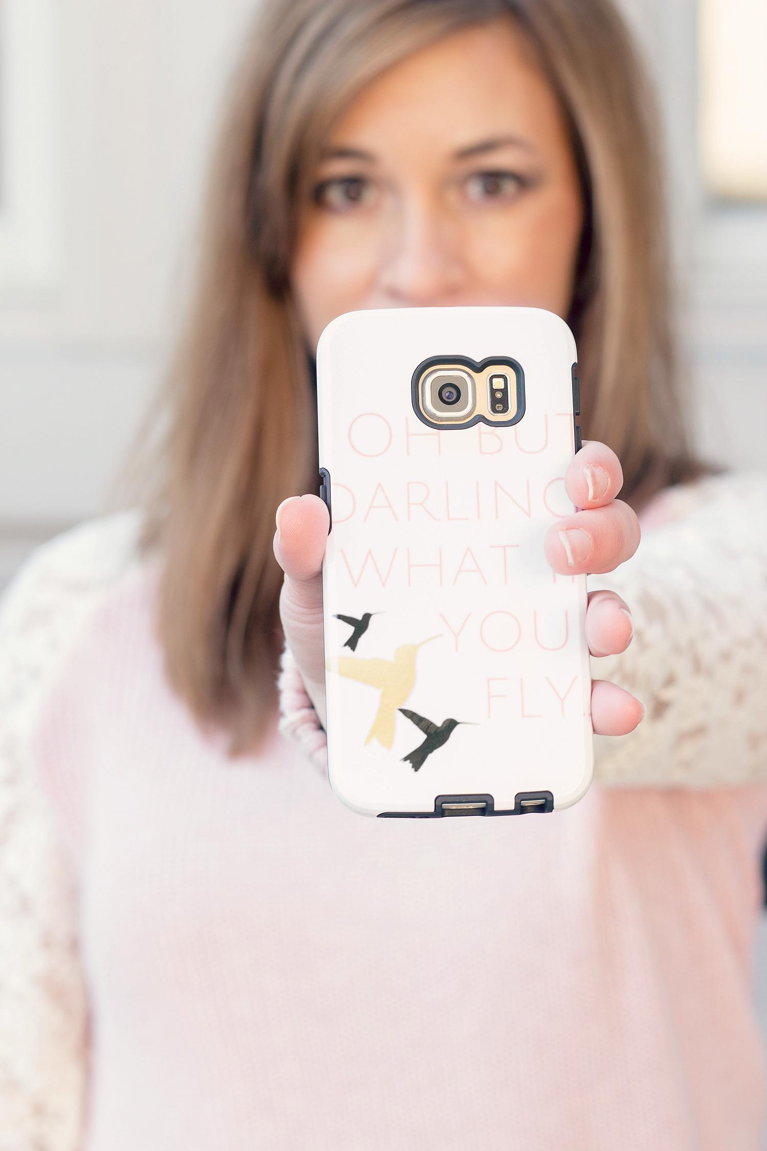 Cute custom phone case options