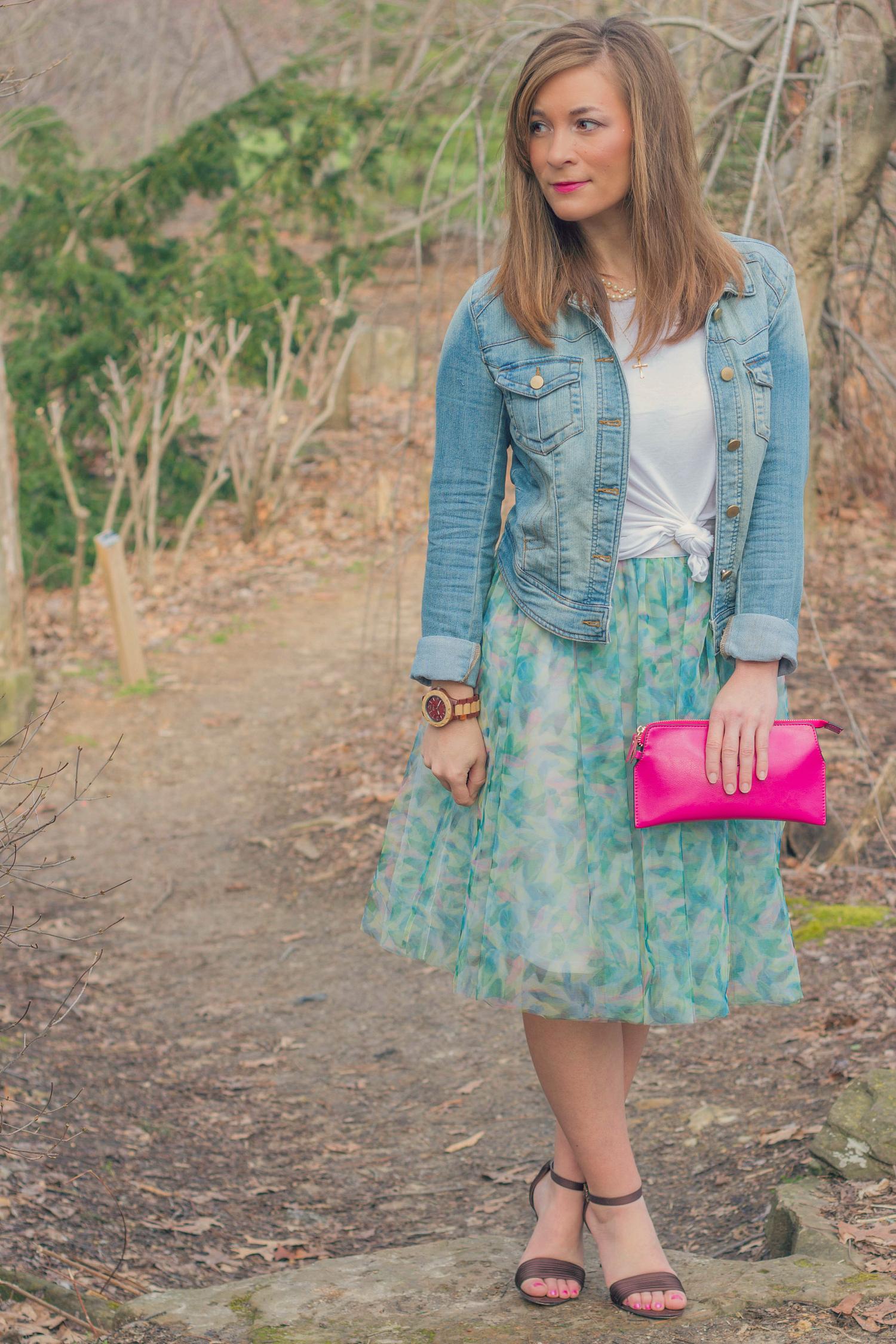 Tulle Skirt for Spring