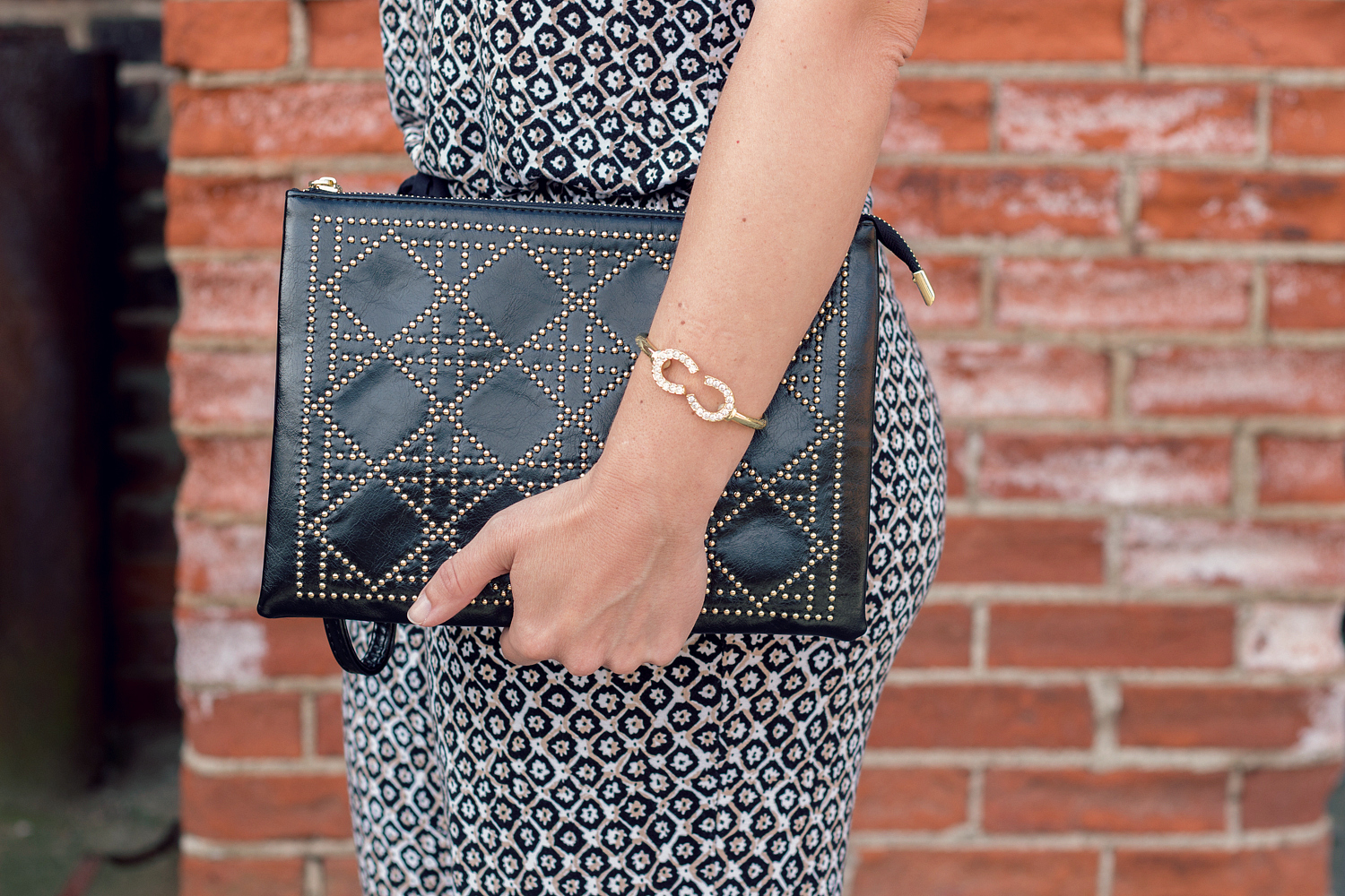 Studded Clutch for Summer