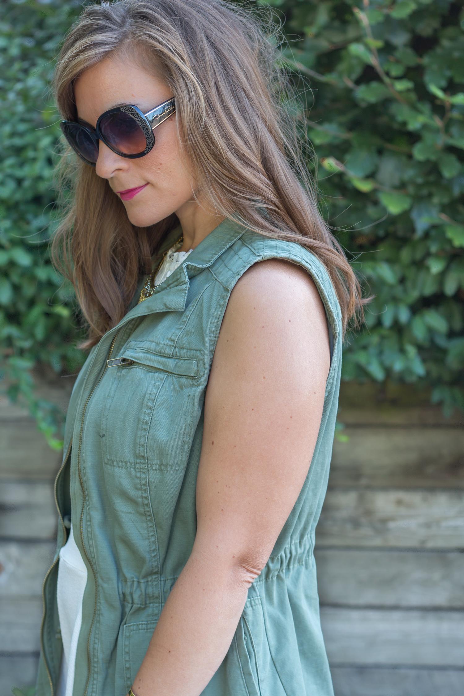 Green Army Jacket Womens