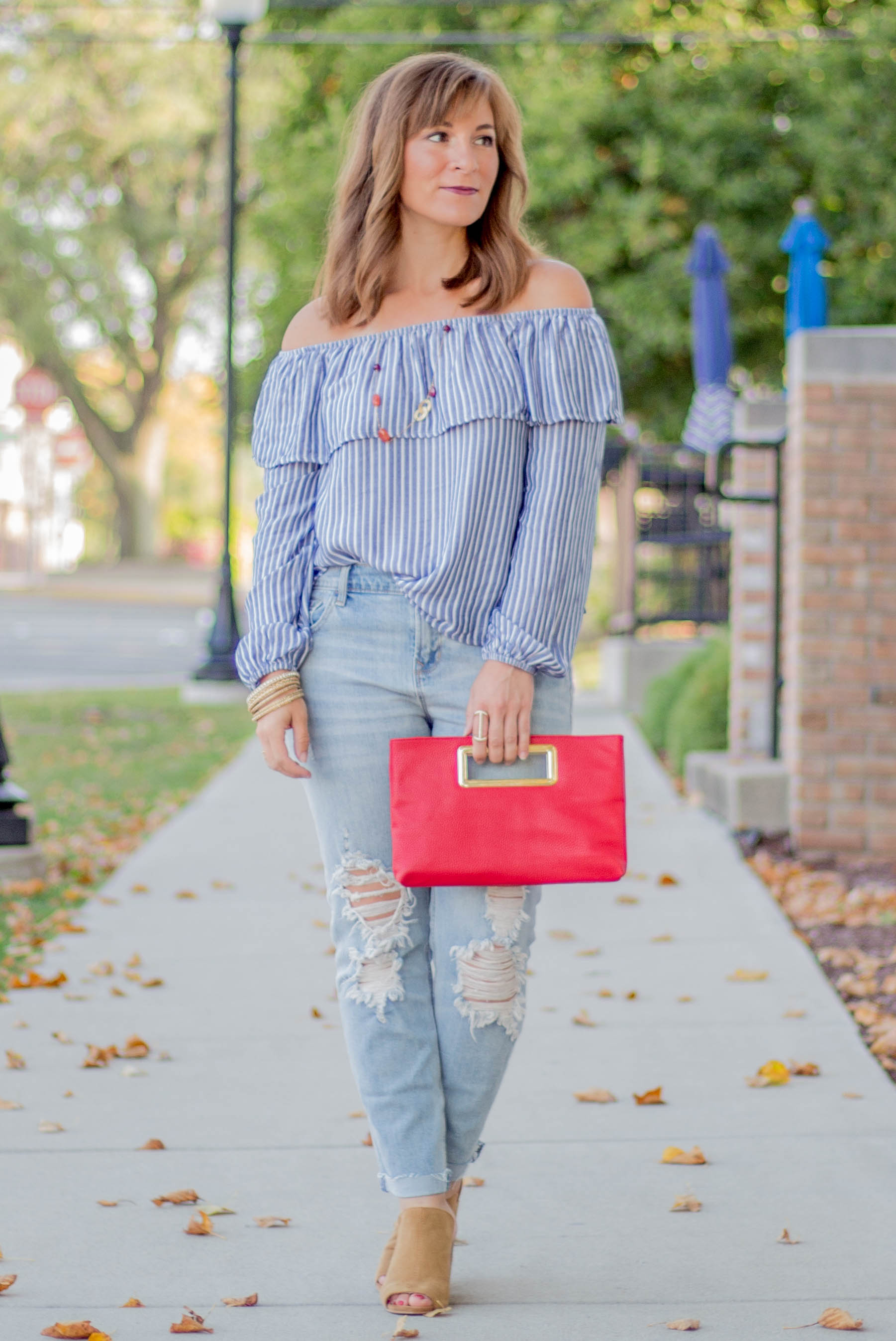 Striped off the shoulder top.jpg