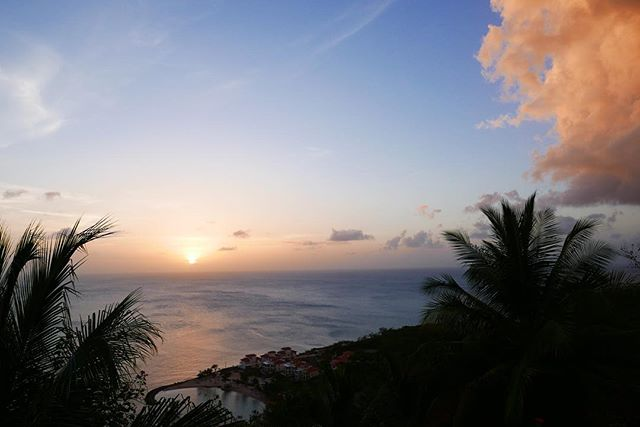 St. Lucia, the first to steal a piece of my heart. #stlucia #stluciawelove #liming #sunset