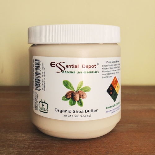 Organic raw shea butter (solid)