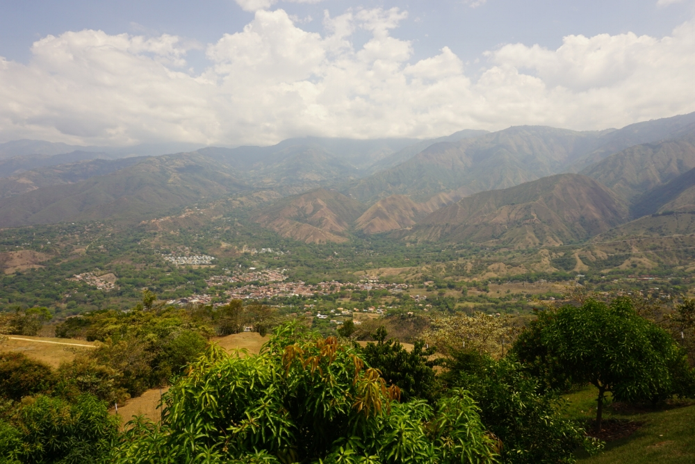 The view from the my family's country house in San Jerónimo, Antioquia.