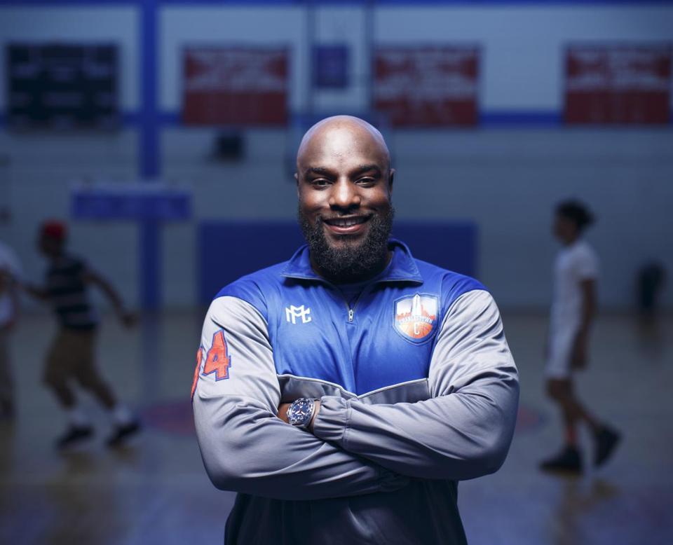 Charlestown High grad's athletic apparel company takes off. -Boston Globe -