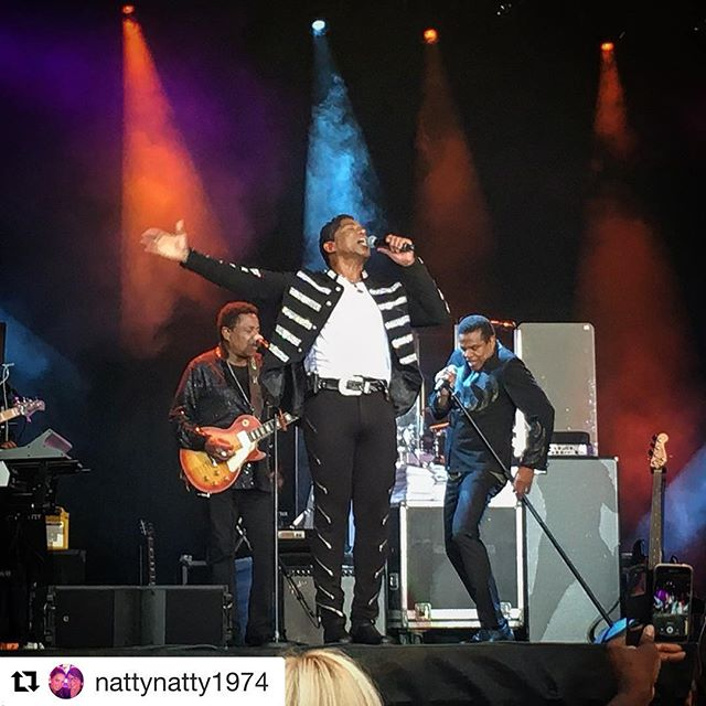 Thank you! 💜  #Repost @nattynatty1974 (@get_repost) ・・・ #thejacksons #greenwich #ilovelondon #jermainejackson