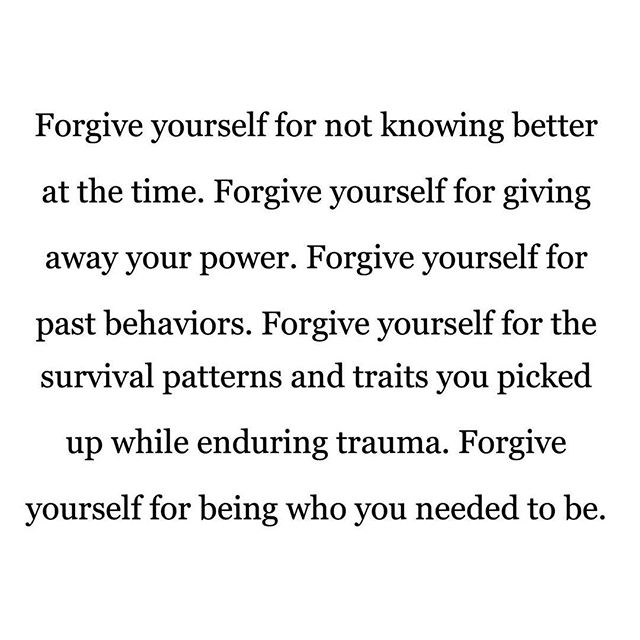 """A good friend of mine said to me recently, """"You have to forgive yourself for staying in a bad situation longer than you should have. You were working it all out in your brain and trying to understand what was happening. You weren't ready to leave until you were ready to leave."""" For those of who are in, working on leaving, or have already left abusive relationships, please offer yourself some compassion and grace. You're doing the best you can in a tough situation. Please do what you can to take care of yourself and know that there is support out there for you in the form of a friend, a therapist, or a help hotline. May this new year be a year of new beginnings and self-love. ❤️ #selfcompassion #emotionalabuse #donttoleratetheintolerable #vibrantoakcounseling"""
