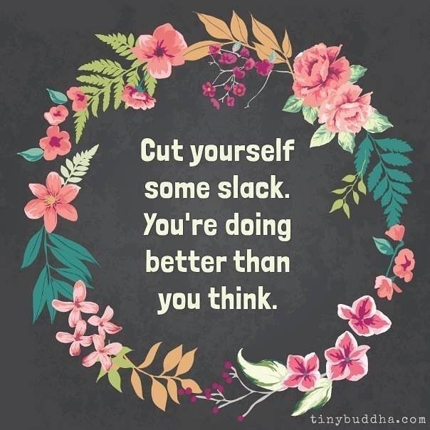 Tell that inner critic, who loves to harp on your screw-ups and make you feel bad, to hush its face! You are doing just fine. ❤️😊❤️ #mistakesaregreat #perfectionisboring #vibrantoakcounseling