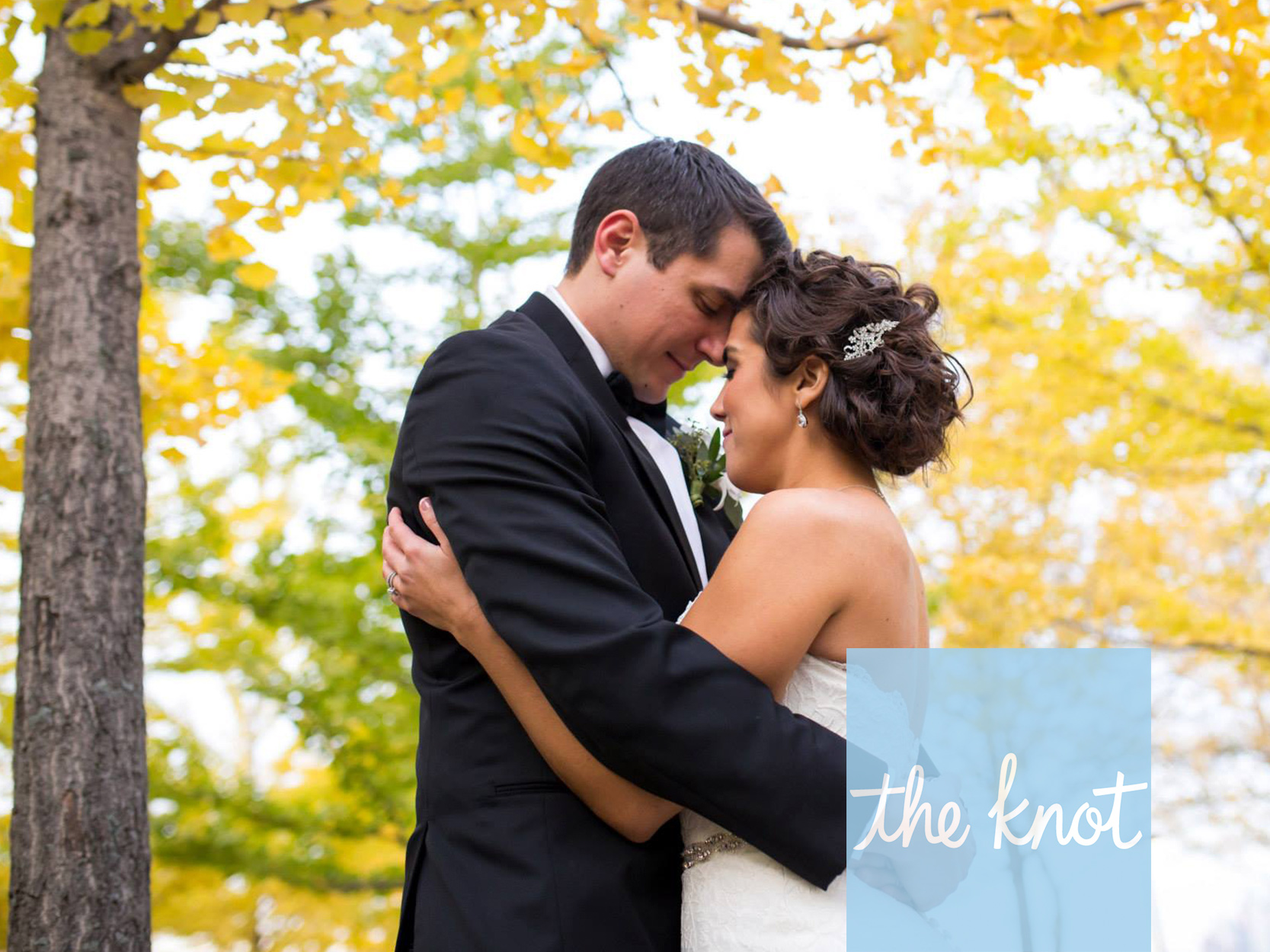 THE KNOT:  A FORMAL MODERN WEDDING