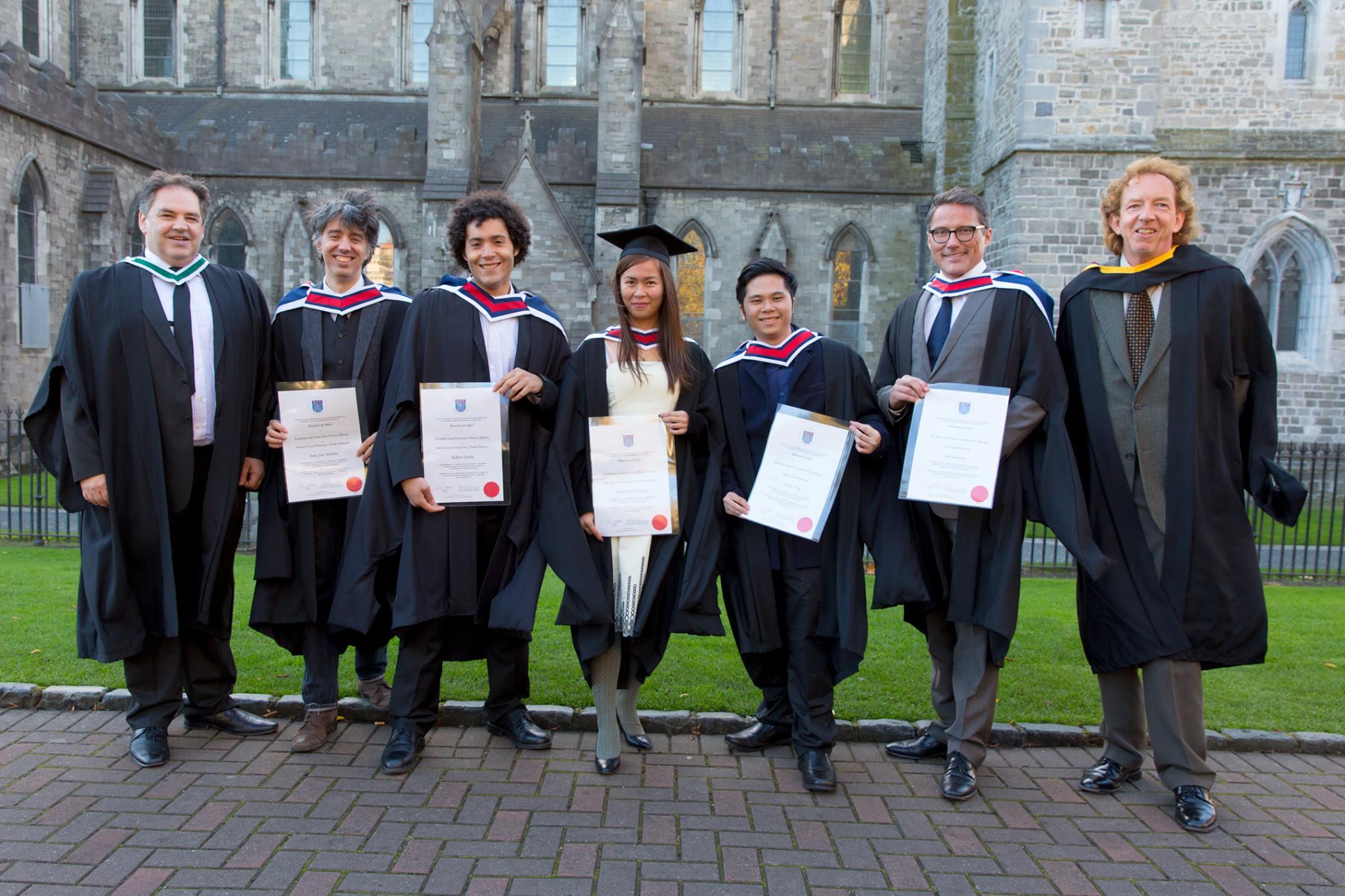 M.A Graduation at St. Patricks Cathedral