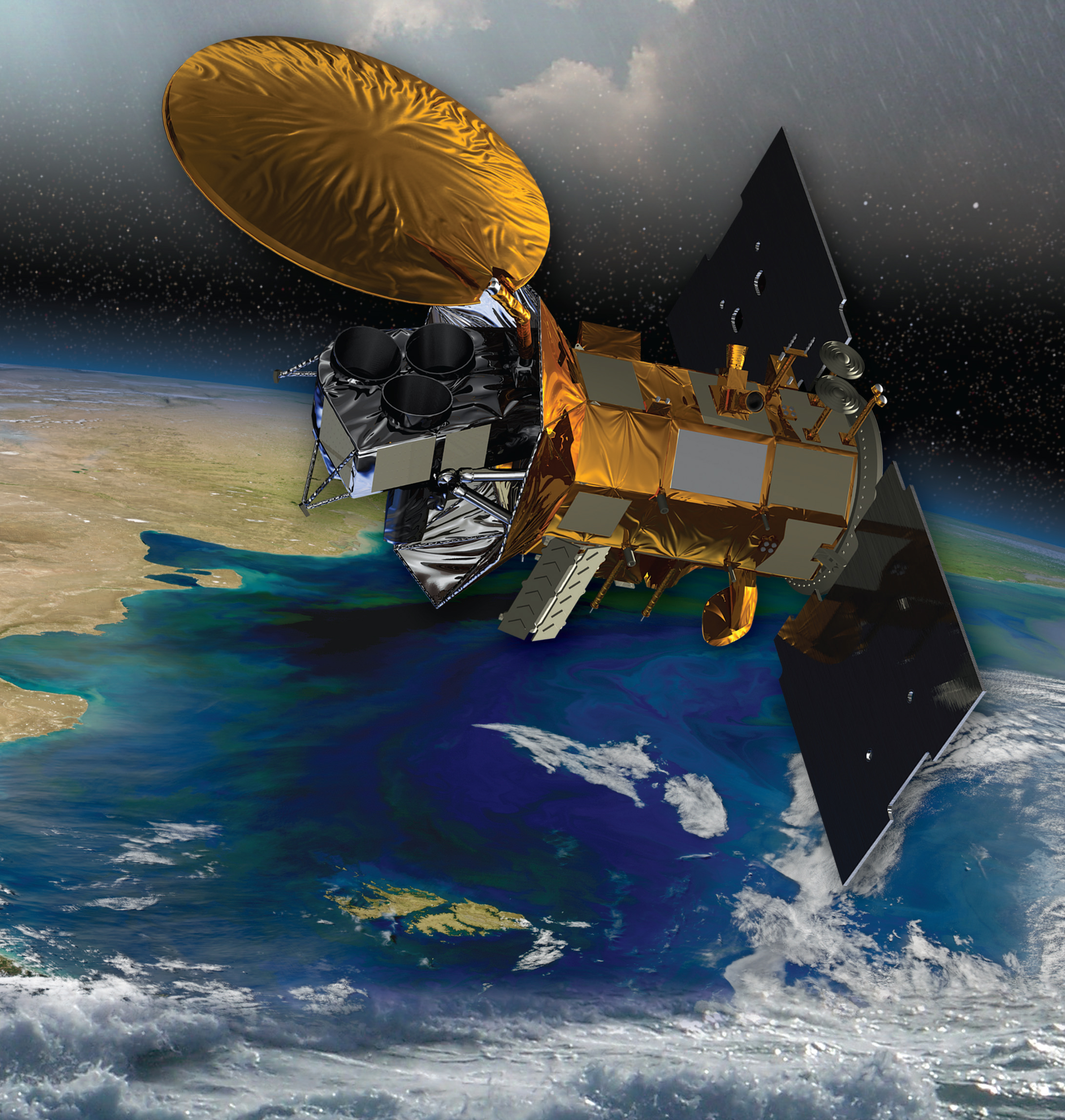 NASA's Aquarius satellite (source: nasa.gov)