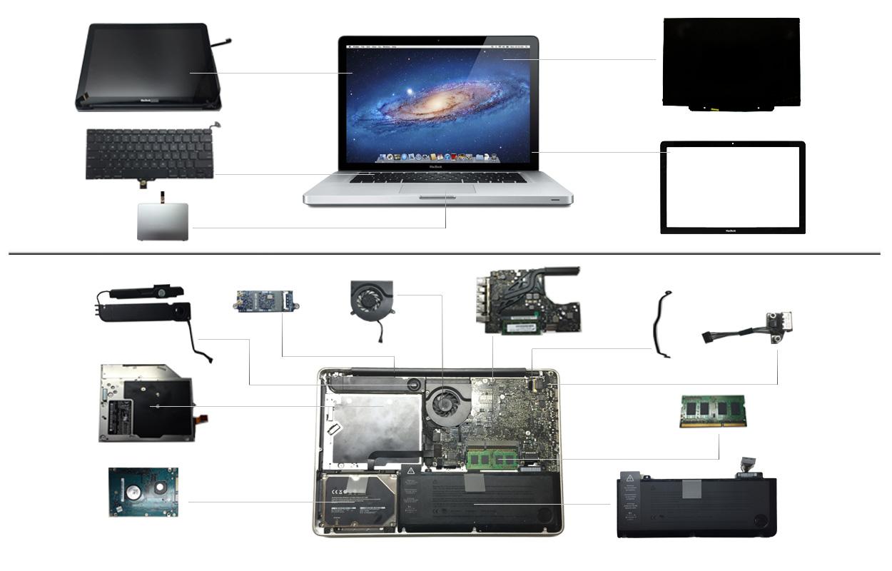 """13"""" Macbook Pro 2012 (A1278)"""