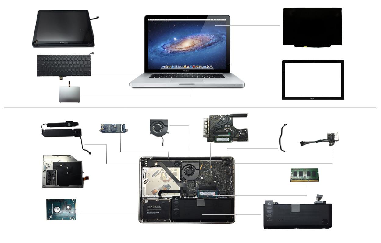 """13"""" Macbook Pro 2011 (A1278)"""
