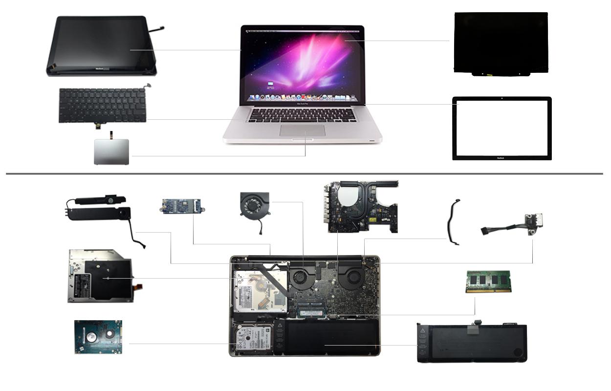 """15"""" Macbook Pro 2009 (A1286)"""