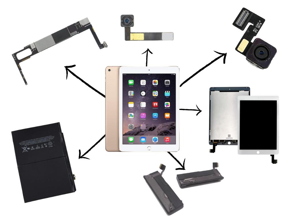 iPad Air 2 (A1566 and A1567)