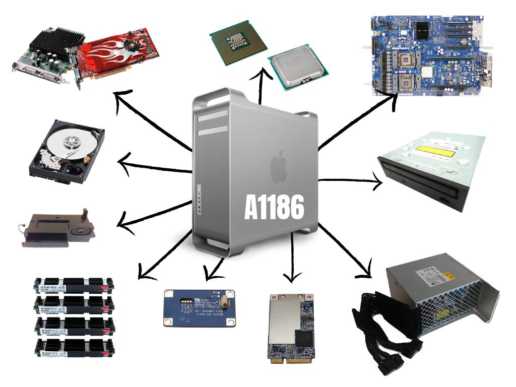 Mac Pro A1186 (2006-2008)