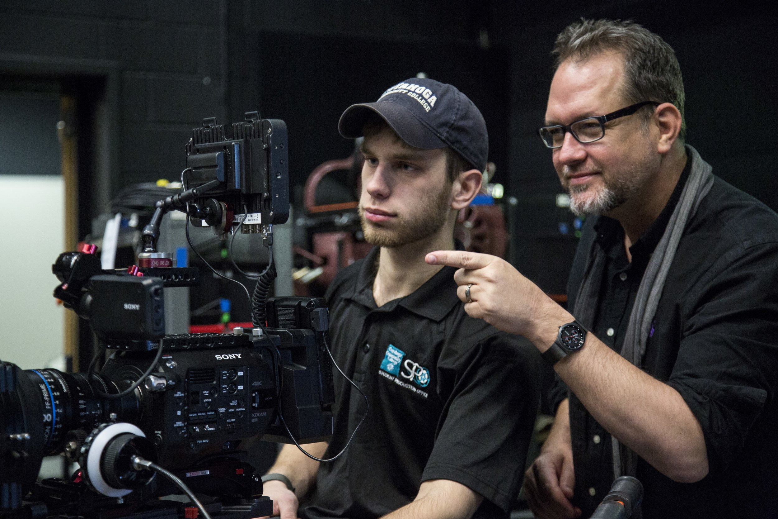 Director Emmett Murphy from showHive Productions